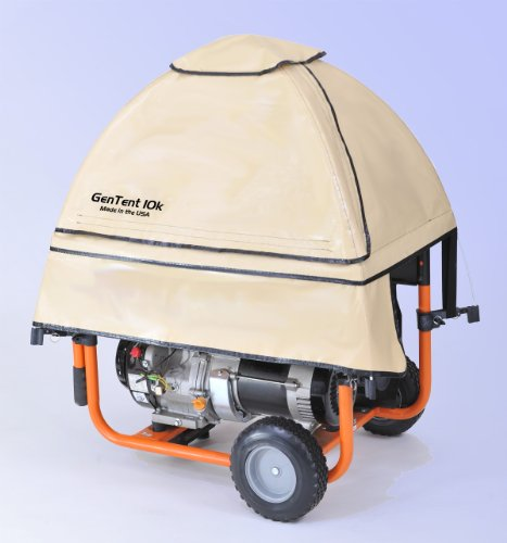 GenTent wet weather safety canopy for portable generators ...