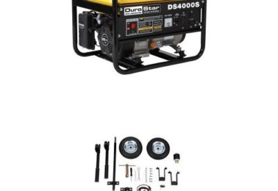 Durostar Ds4000s 3300 Running Watts 4000 Starting Gas Ed Portable Generator And Wheel Kit Bundle Reviews