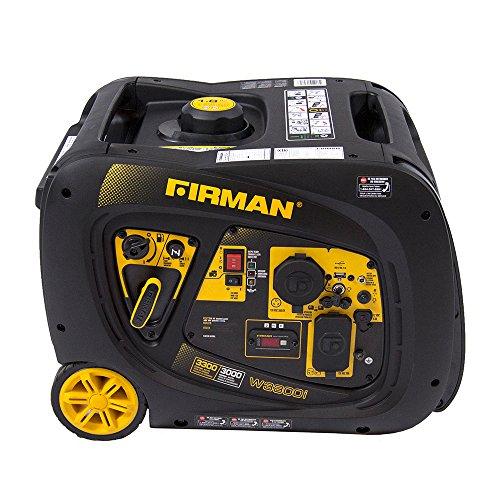 Firman W03082 3300  3000 Watt Electric Start Gas Portable
